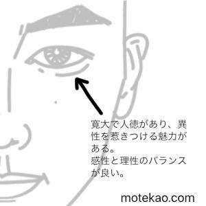 東出昌大さんの目の意味
