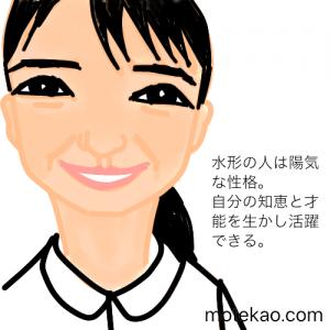 上白石萌音さんの顔の輪郭の意味と性格・運勢