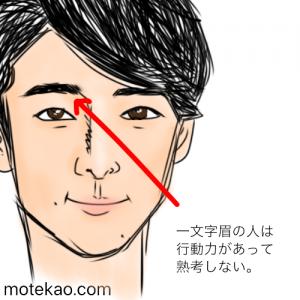 高橋一生さんの眉毛の意味と性格・運勢