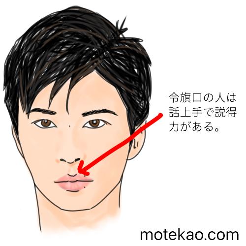 「上唇の中心部が三角形」田中圭さんは話上手で説得力がある