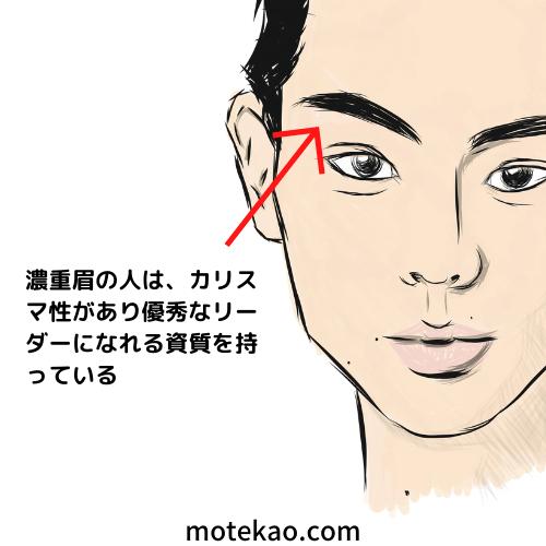 「眉毛が濃い」菅田将暉さんはカリスマ性がある